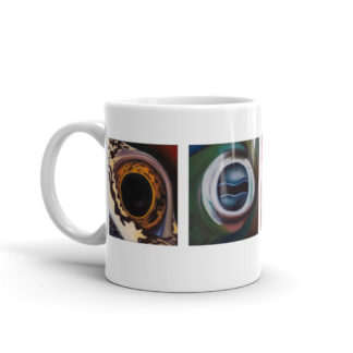 Aquatic Eyes Sea Life Mug