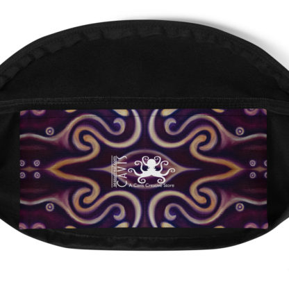 CAVIS Celtic Big Dragon Fanny Pack - Waist Bag - Inside Pocket
