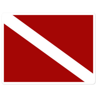 CAVIS Dive Flag 5.5in Sticker