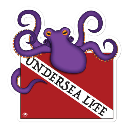 CAVIS Dive Flag Octopus - Undersea Life 5.5in