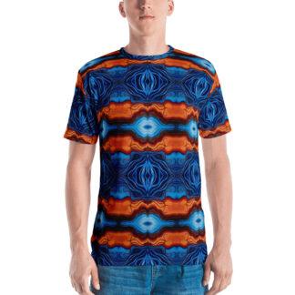 CAVIS Reborn Pattern Psychedelic Men's T-Shirt - Front