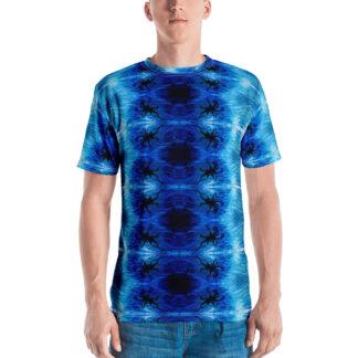CAVIS Blue Ocean Octopus Men's T-Shirt