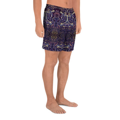 CAVIS Celtic Big Dragon Pattern Men's Athletic Shorts - Right