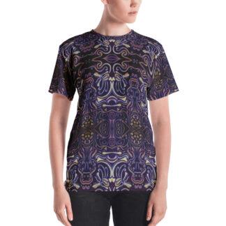 CAVIS Celtic Big Dragon Women's T-Shirt - Front