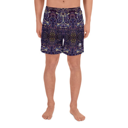 CAVIS Celtic Big Dragon Pattern Men's Athletic Shorts - Front