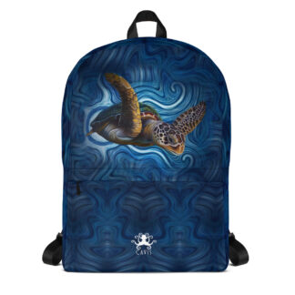 CAVIS Sea Turtle Backpack - Front