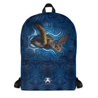 CAVIS Sea Turtle Backpack - Front
