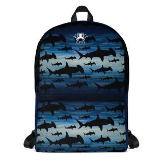 CAVIS Hammerhead Shark Pattern Backpack - Front