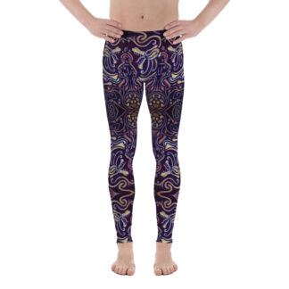 CAVIS Celtic Big Dragon Pattern Men's Leggings - Front