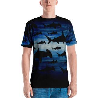CAVIS Hammerhead Shark Pattern Shirt - Men's - Front