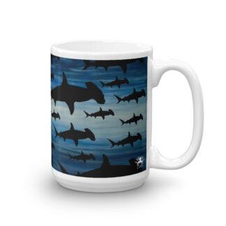 CAVIS Shark Pattern - Hammerhead - 15 oz. Right