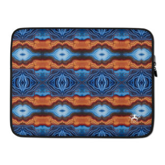 CAVIS Reborn Pattern Laptop Sleeve - Psychedelic Colorful Case - 15 inch