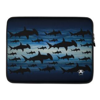 CAVIS Shark Pattern Laptop Sleeve - Hammerhead Case - 15 inch