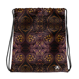 CAVIS Celtic Dragon Drawstring Bag