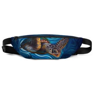CAVIS Sea Turtle Fanny Pack - Waist Bag - Front