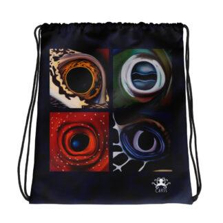 CAVIS Aquatic Eyes Drawstring Bag