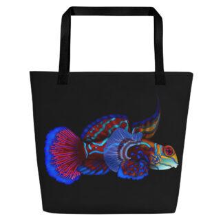 CAVIS Mandarinfish Beach Bag