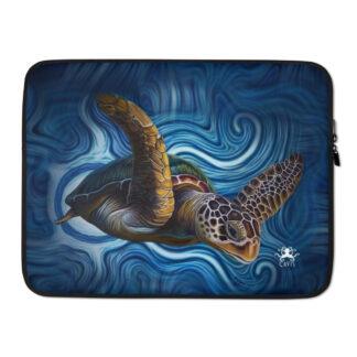 """CAVIS Sea Turtle Laptop Sleeve - 15"""""""
