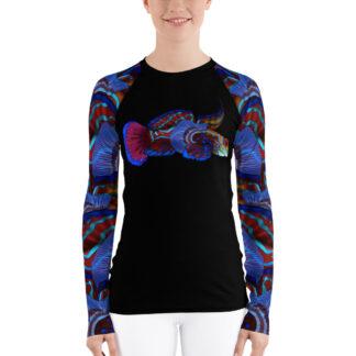 CAVIS Mandarinfish Rash Guard - Women's - Front
