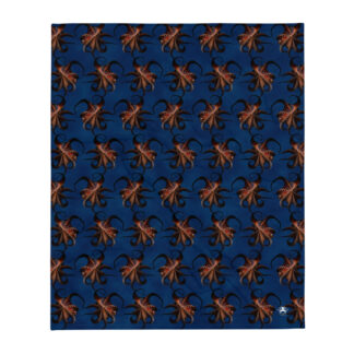 CAVIS Flying Octopus Soft Throw Blanket