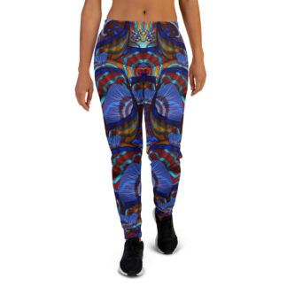 CAVIS Mandarinfish Pattern Joggers - Women's Sweatpants - Front