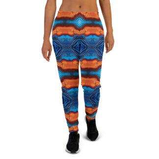 CAVIS Reborn Psychedelic Joggers - Women's Sweatpants - Front