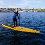 CAVIS A Sea Turtle Women's Rash Guard, Sea Life Painting Dive Skin Swim Shirt