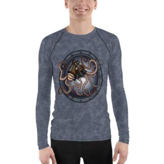 CAVIS Steampunk Octopus Rash Guard - Men's - Front