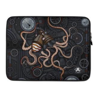 CAVIS Steampunk Octopus Gears Laptop Sleeve - 15 Inch
