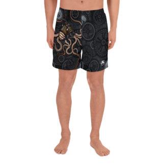 CAVIS Steampunk Octopus Men's Shorts - Front