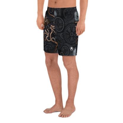 CAVIS Steampunk Octopus Men's Shorts - Left