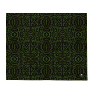 CAVIS Wonderpus Soft Throw Blanket - Green Black