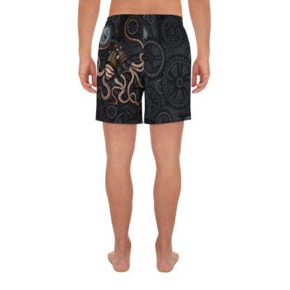 CAVIS Steampunk Octopus Men's Shorts - Back