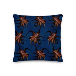 CAVIS Flying Octopus Pillow - Front