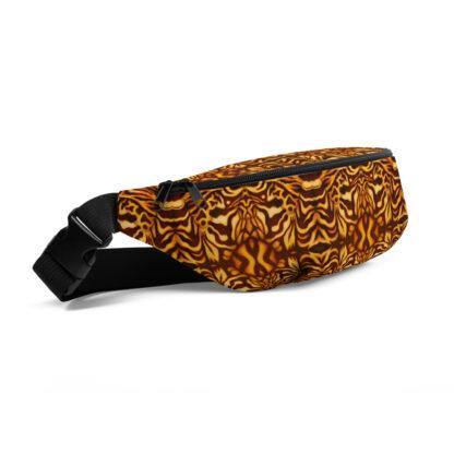 CAVIS Wunderpus Pattern Fanny Pack - Yellow Orange Alternative Sea Life Waist Bag - Right