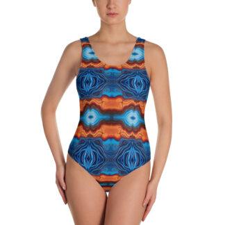 CAVIS Reborn Pattern Swimsuit - Women's - Front
