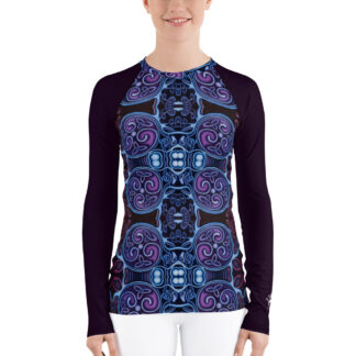 CAVIS Celtic Soul Rash Guard - Scuba Dive Swim Shirt - Front