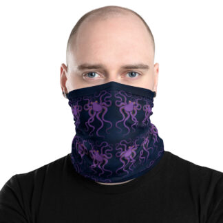 CAVIS Purple Octopus Pattern - Gaiter - Men's - Front2
