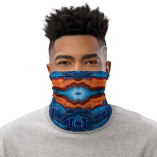 CAVIS Reborn Pattern Gaiter Psychedelic Alternative Face Mask - Men's - Front