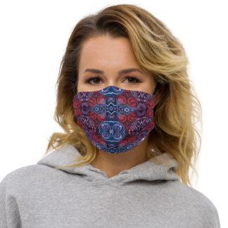 CAVIS Celtic Heart Premium Cloth Face Mask - Front